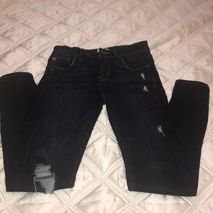 Natalie Mid rise super skinny Hudson jeans